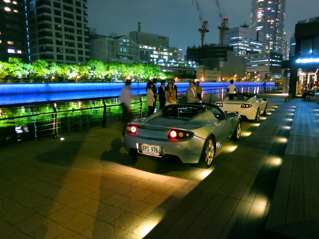 Tesla Owner's Event in Osaka Nakanoshima