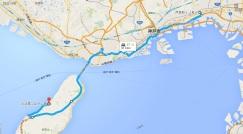 芦屋から淡路島の往復行けるところまで。